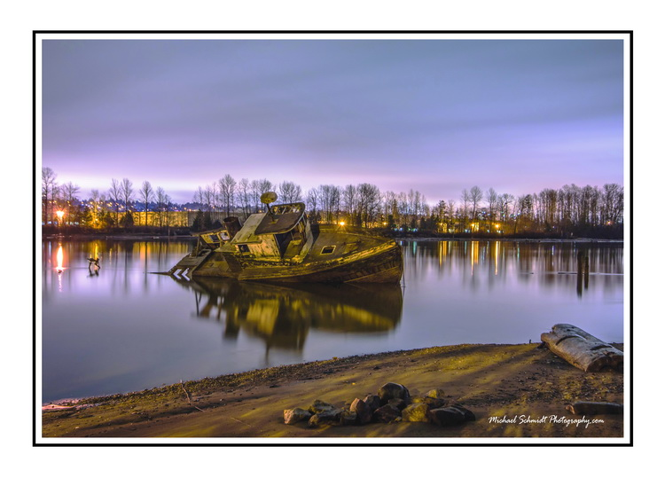 2011-12-29 Richmond Fraser River Shipwreck