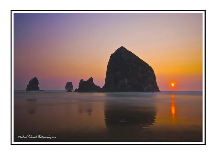 Haystack Sunset white Border_resize.jpg