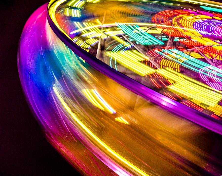 2014-08-21 Vancouver Playland Long Exposures Westcoast Wheel-40
