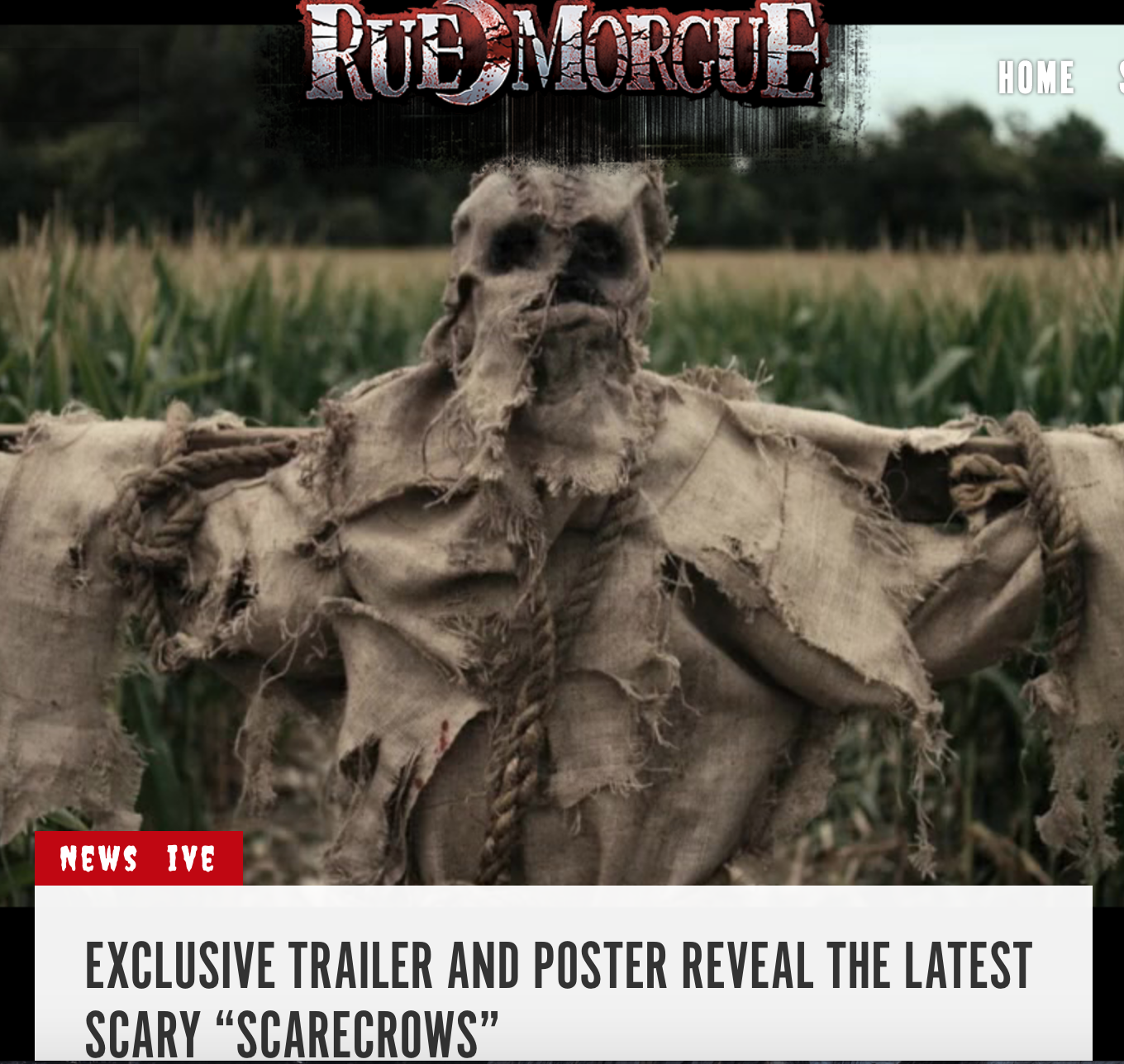 USA RELEASE NEWS !!! READ AND WATCH HERE https://www.rue-morgue.com/exclusive-trailer-and-poster-reveal-the-latest-scary-scarecrows/