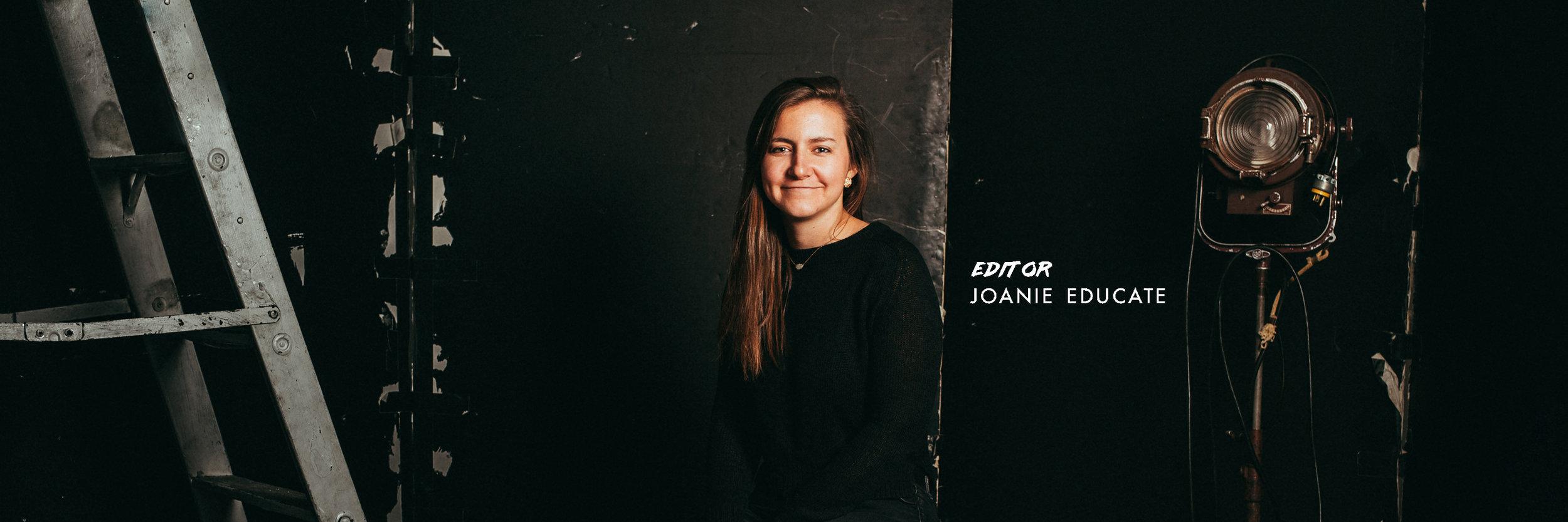 editor, joanie educate