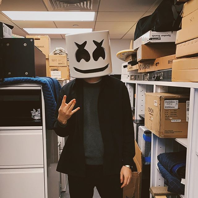 tfw you can post the pic you shouldn't have of you at work in the Marshmello helmet because they can't fire you anymore. Big big love to my Columbia family for making the past year and a half a time to remember. Exciting things coming.
