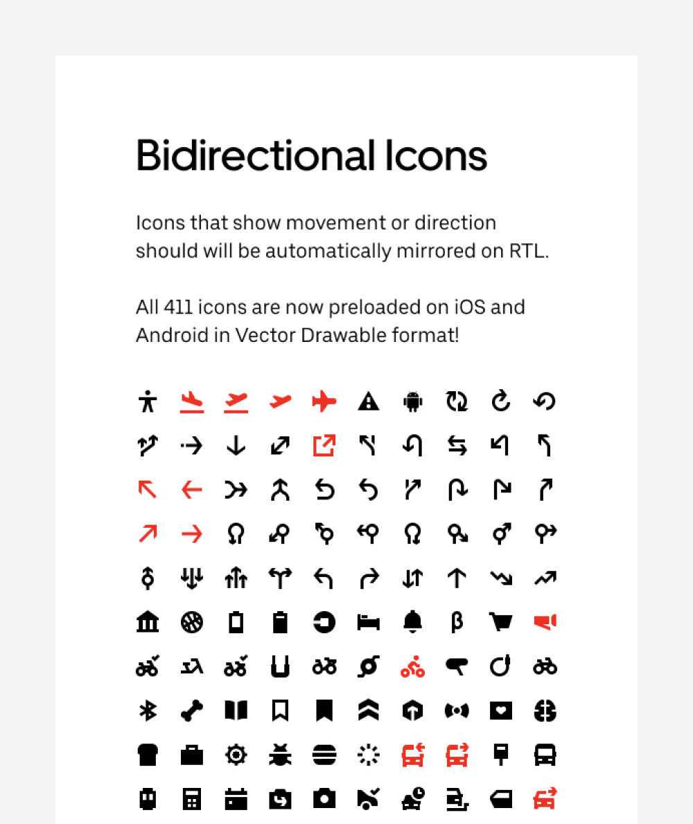 Bidirectional Icons for RTL