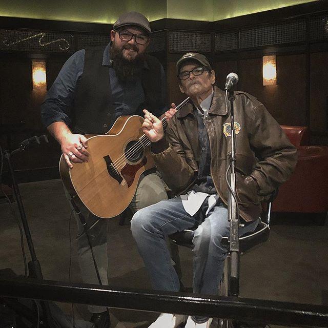 My good friend Steve Mark Green stop by the show at Bar Louie on Thursday.