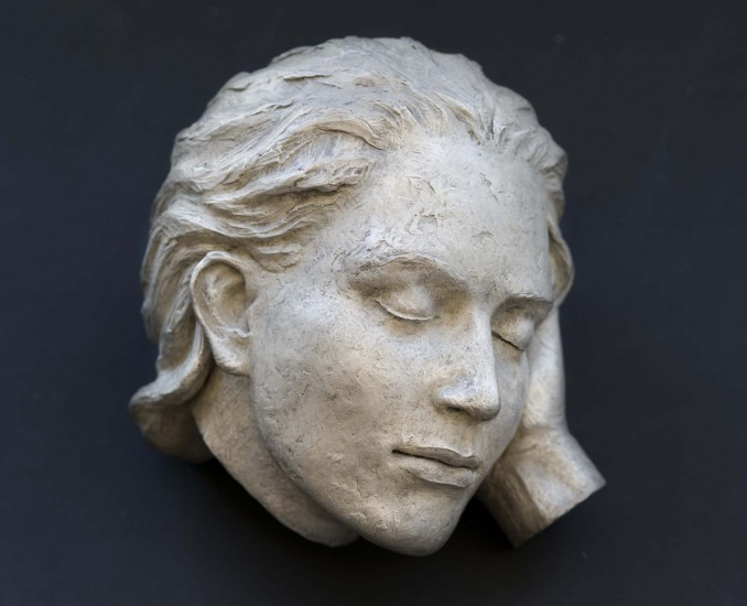 """RESTING, edition 6 of 12, Bronze, 7 x 9 x 9"""""""