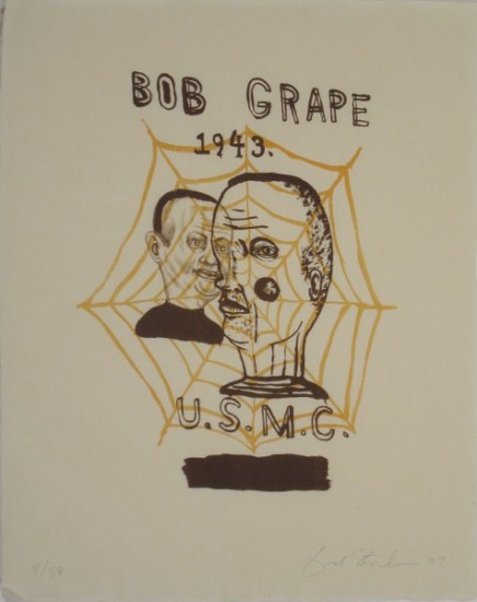 BOB GRAPE, Lithograph, Ed. 4/38, 20 1/2 x 17""