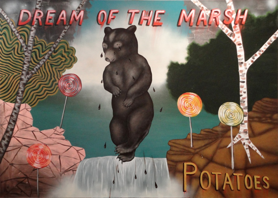 Dream of the Marsh Potatoes, by Fred Stonehouse