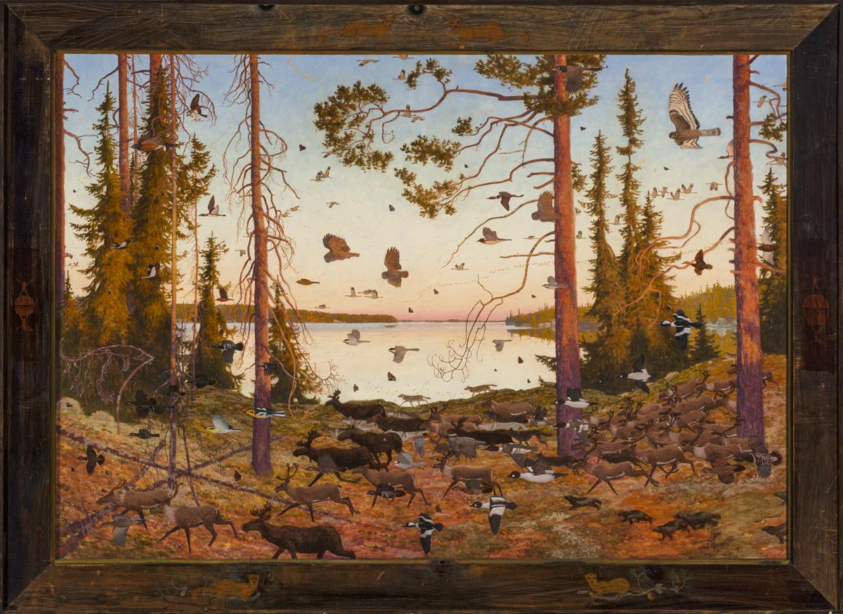 Tom Uttech, Widigendaa (978), Oil on Linen, 43x59 inches