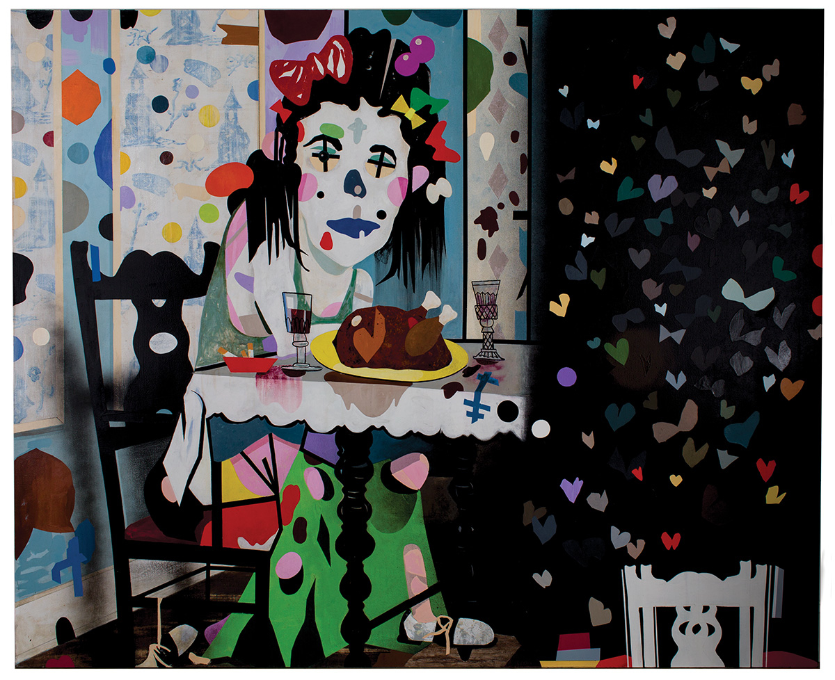 T.L. Solien, LESS, 2011, Acrylic on Canvas,84 x 96 inches