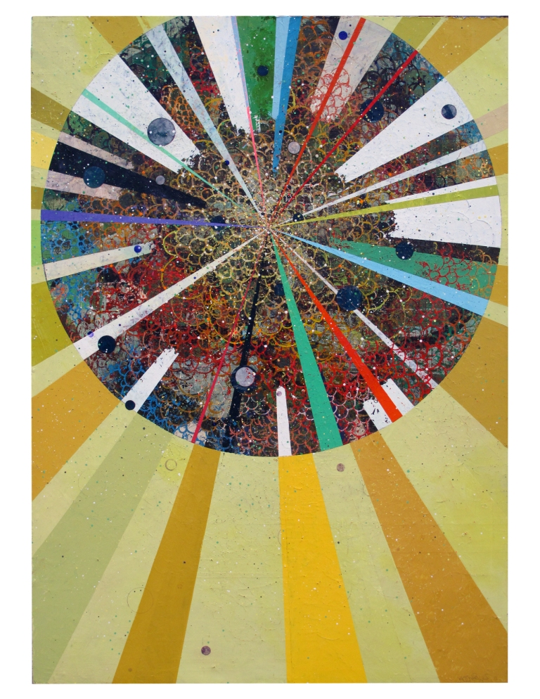 "Jason Rohlf, FORTUNE TELLER, Acrylic on Canvas, 84 x 60"""
