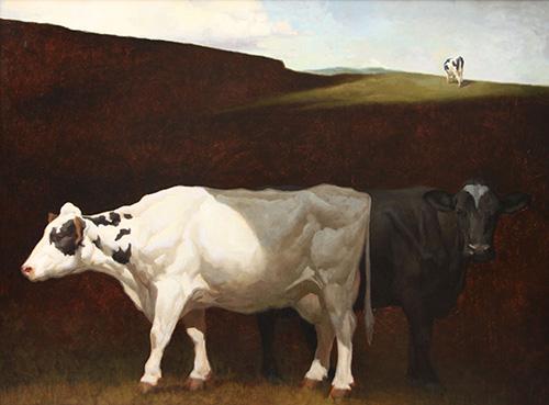 """Craig Blietz, """"Shadow Line,"""" oil on panel, 40 x 54 in. (c) Craig Blietz 2016"""