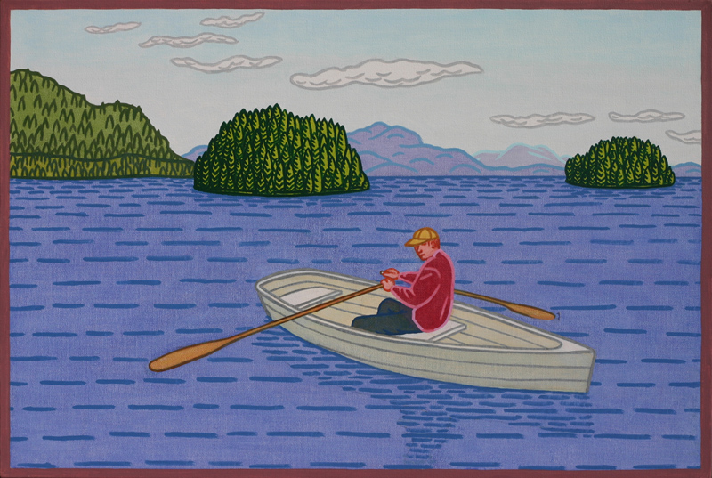 """Charles Munch associates the man in """"Islands II"""" with his father who passed away many years ago. (Photo: Charles Munch)"""