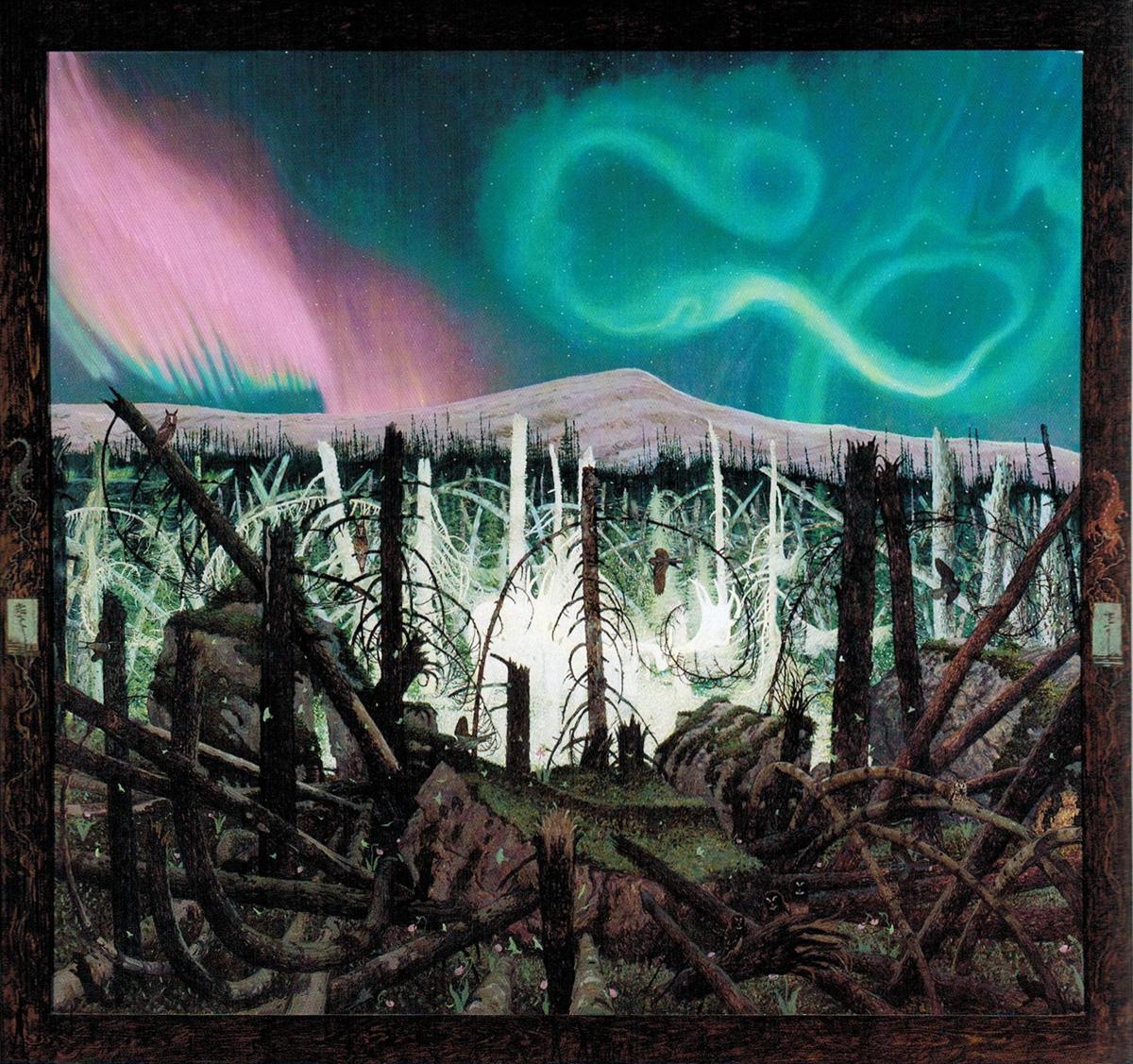 """GANAWAABANDIWAG, Oil on Canvas, 66 x 72"""""""