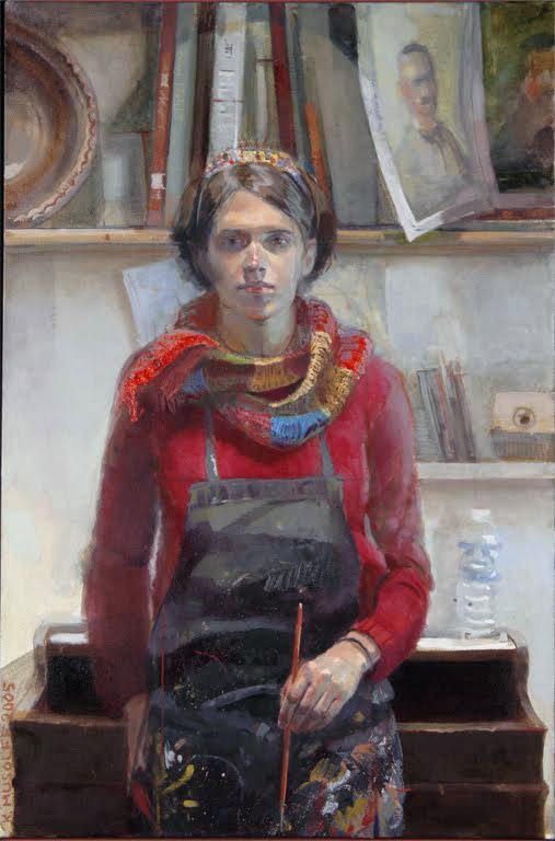 Self portrait, Katie Musolff