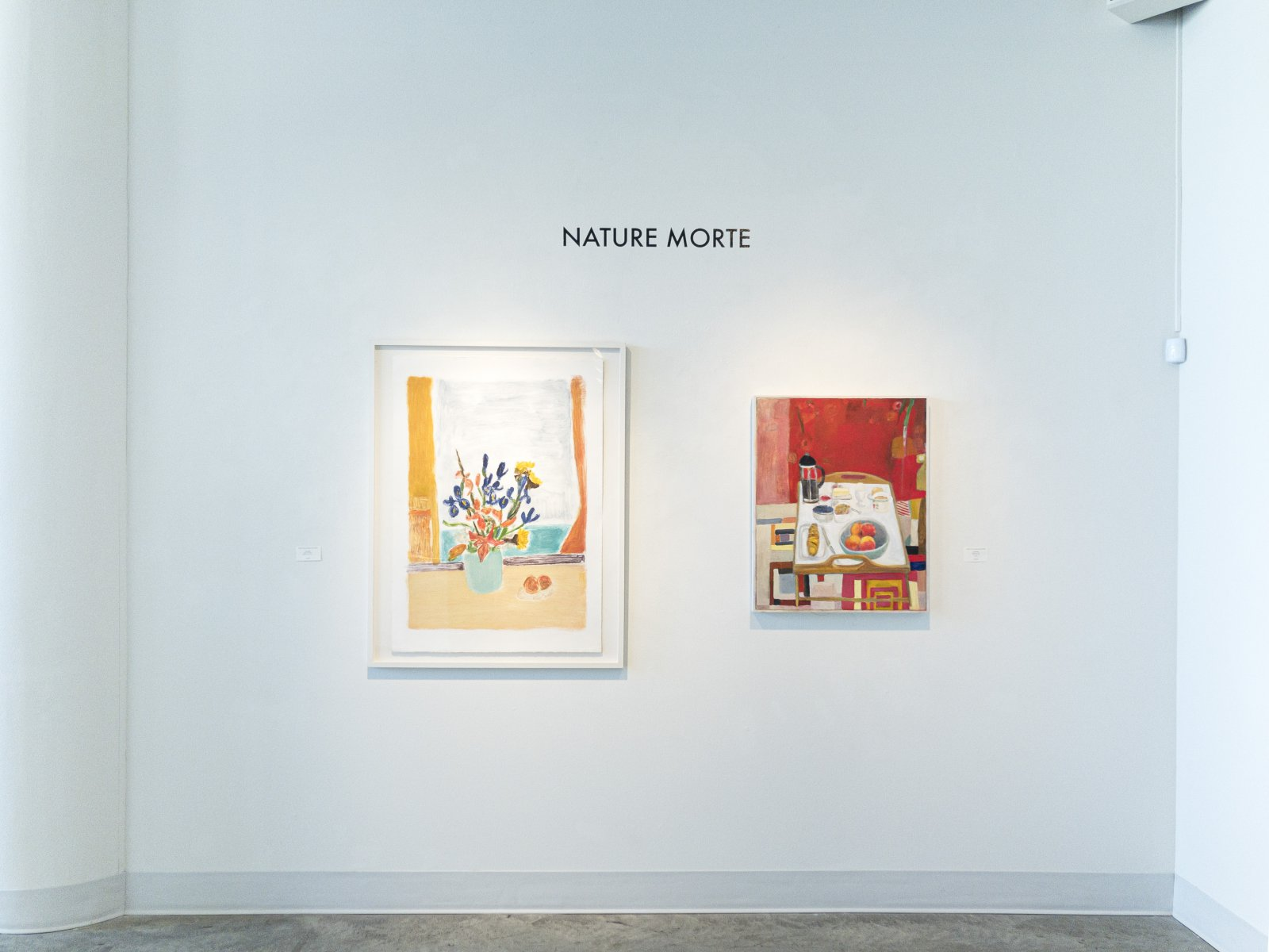Nature Morte: An Exhibition of Contemporary Still Life Gallery. Photo courtesy of the Tory Folliard Gallery.
