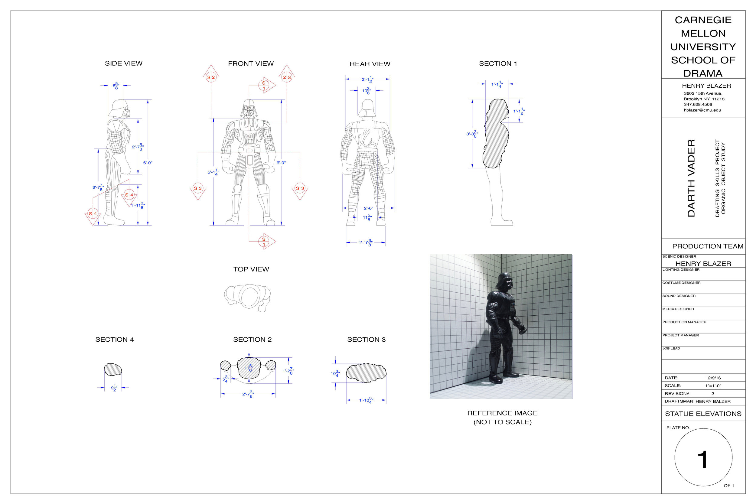 Organic Object Drafting Project , Carnegie Mellon University, 2016