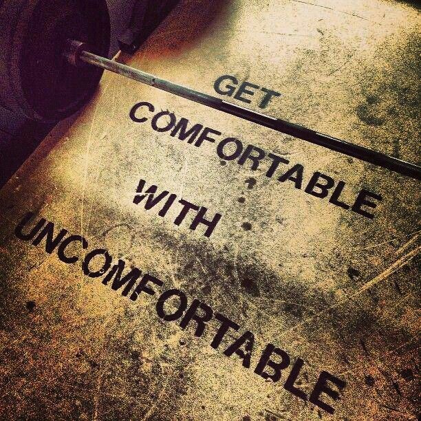 We train for chaos, being comfortable in uncomfortable situations