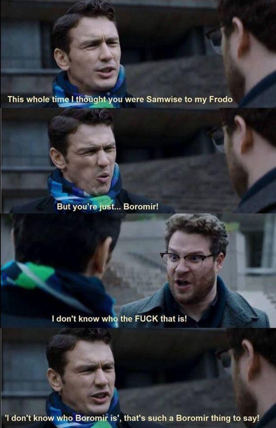 Be Samwise, not Boromir!