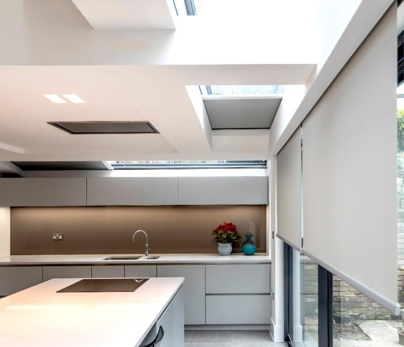 concealed kitchen blinds