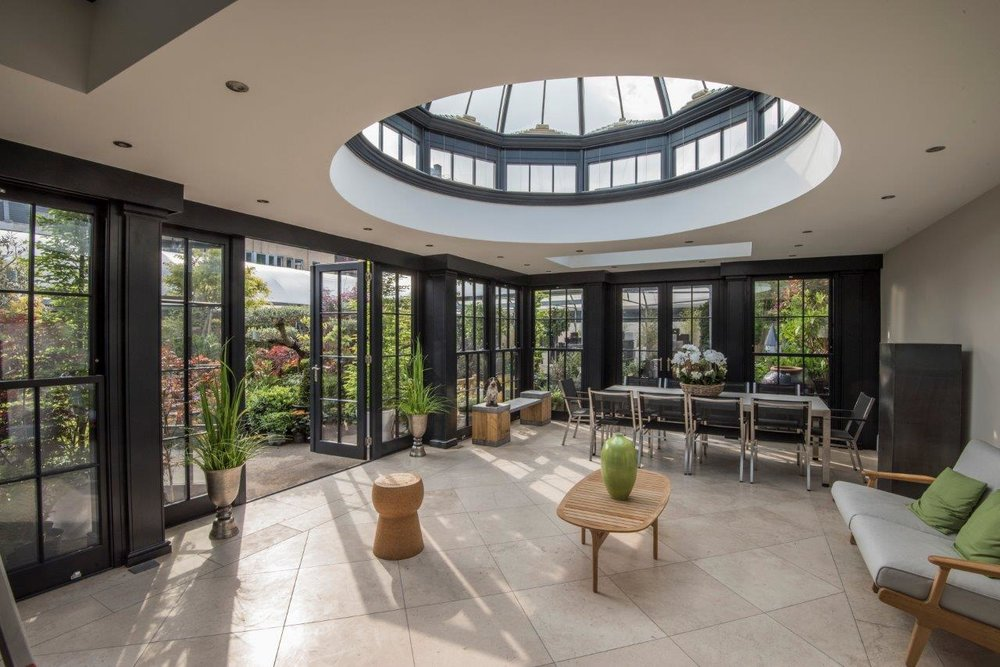 Conservatory showroom in london