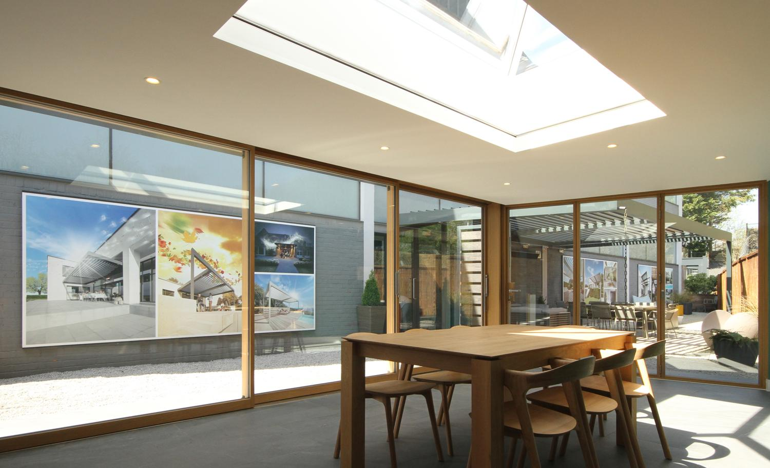 blinds showroom in amersham