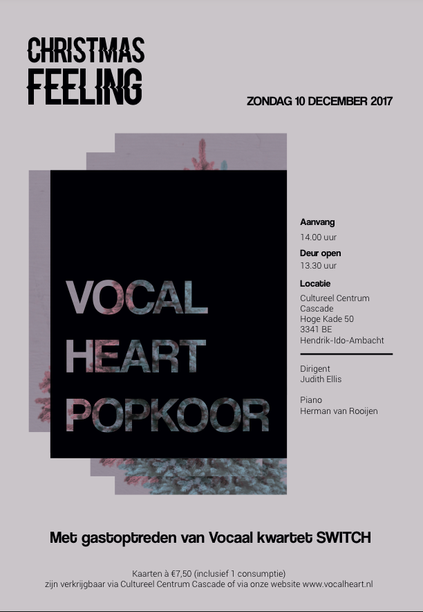 Vocal Heart - cascade