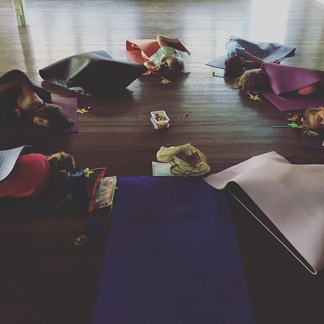 Join us this afternoon for Children's Yoga! 3:30pm at St James Church Hall, Enoggera Rd, Newmarket. Our final Savasana will be well-deserved after our circus-inspired class today 🎪 See you soon! 🙏🏻 #kidsyoga #circus #acroyoga #fun #games #breathing #calm  #relaxation #mindfulness