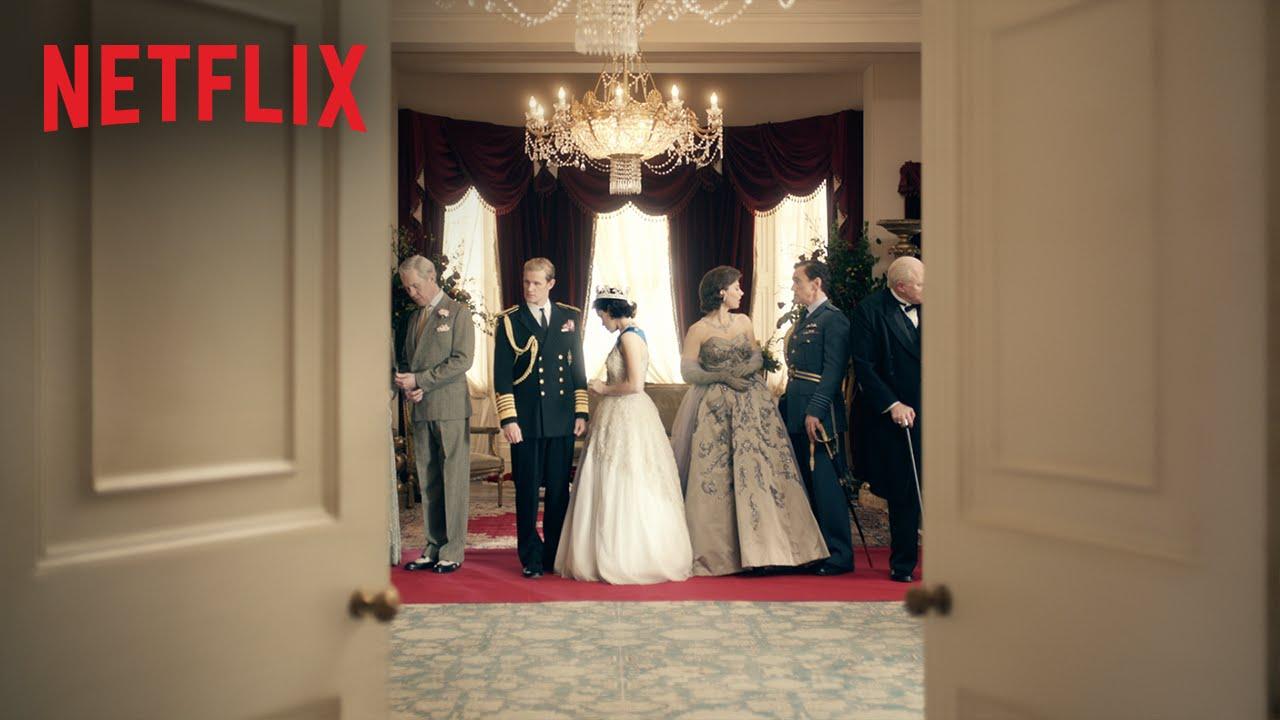 "Netflix's £100 million tv show  ""The Crown""  starring Matt Smith"