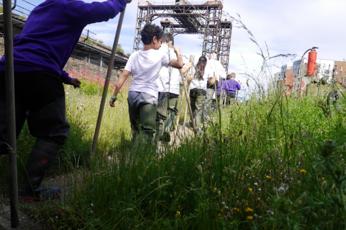 Into the Creek! (a trip to Deptford Creek, 15 June 2016)