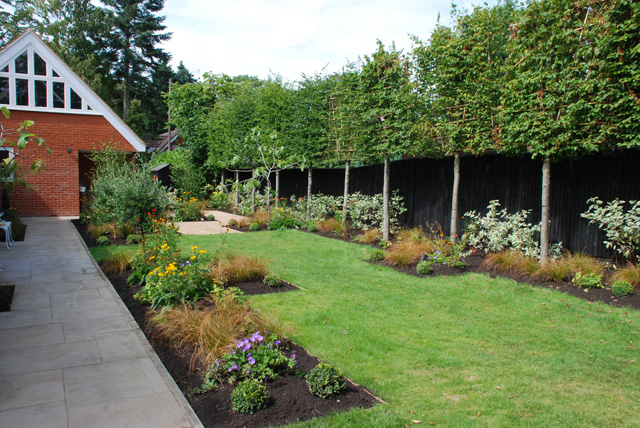 New garden for a restored Victorian family home