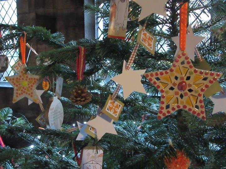Retreat House Chester's Christmas tree in the Cathedral Christmas Tree Festival