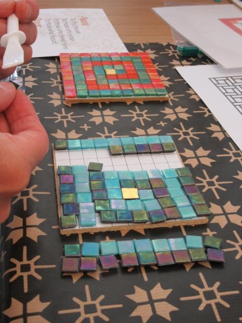 mosaic workshop July 2017