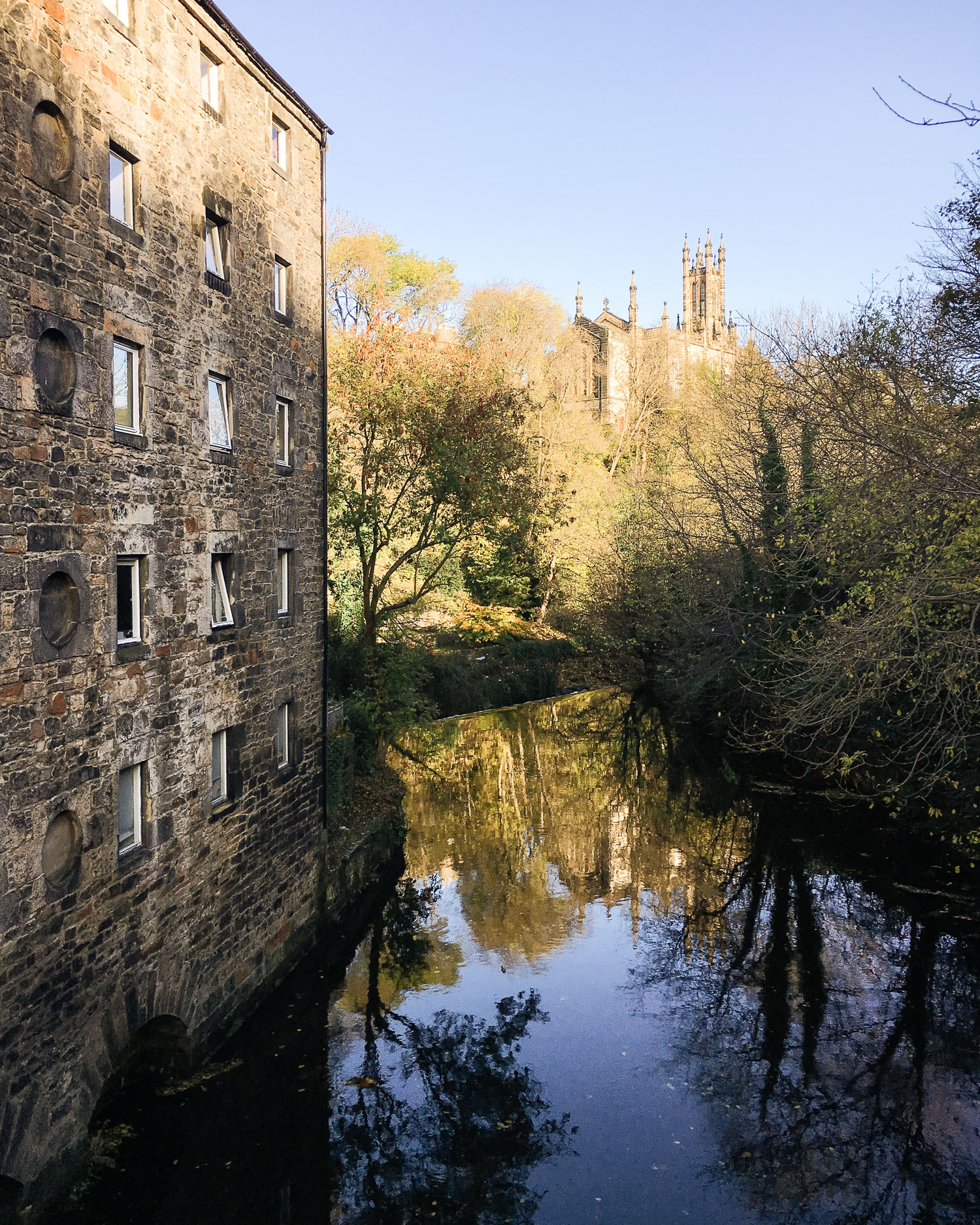 Reflections in Dean Village