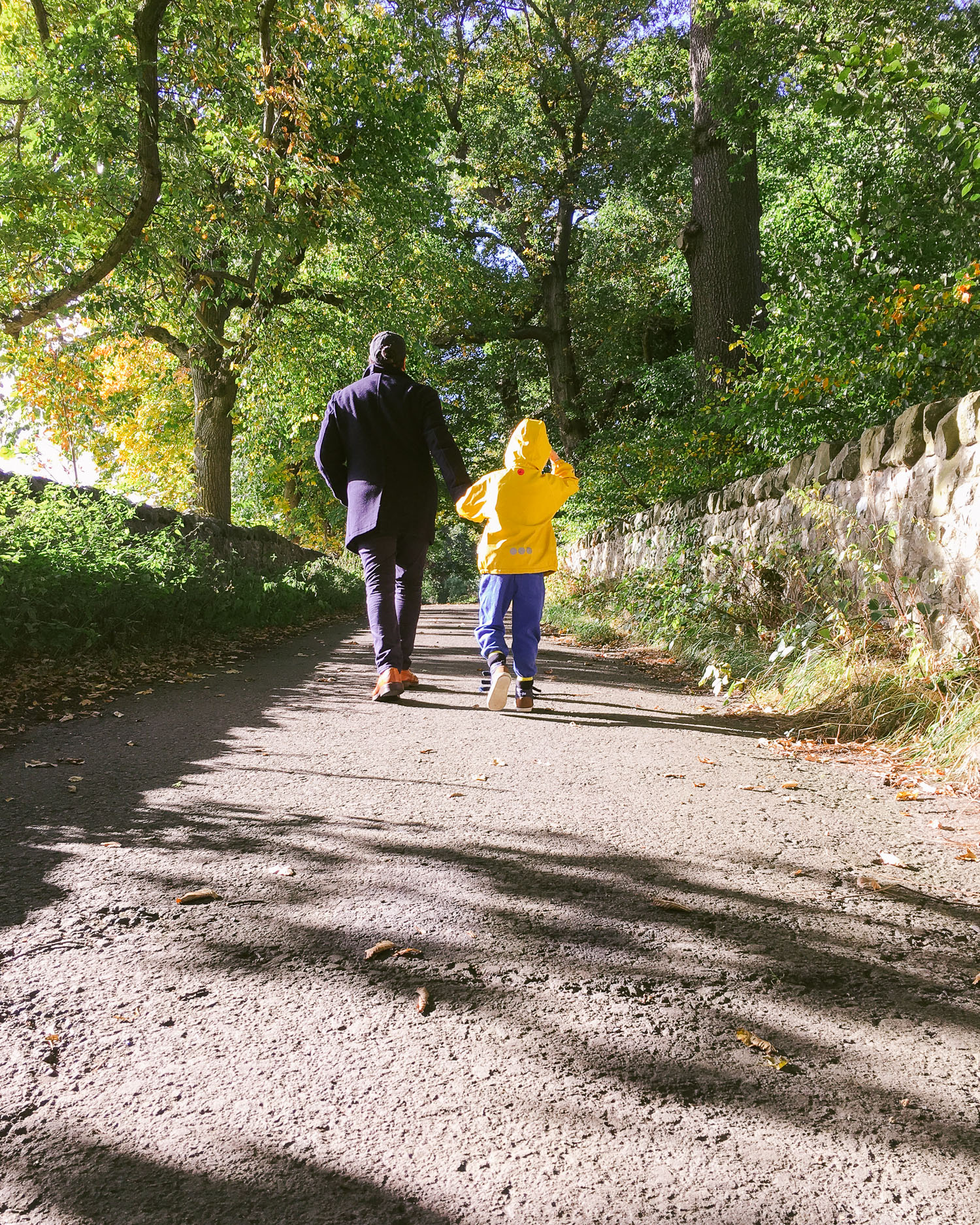 Costorphine hill is an easy climb for families