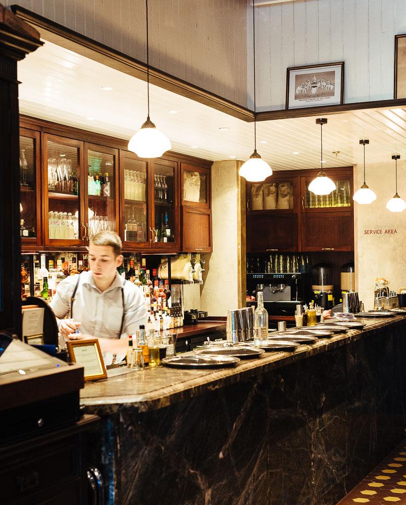 Dishoom Edinburgh upstairs bar
