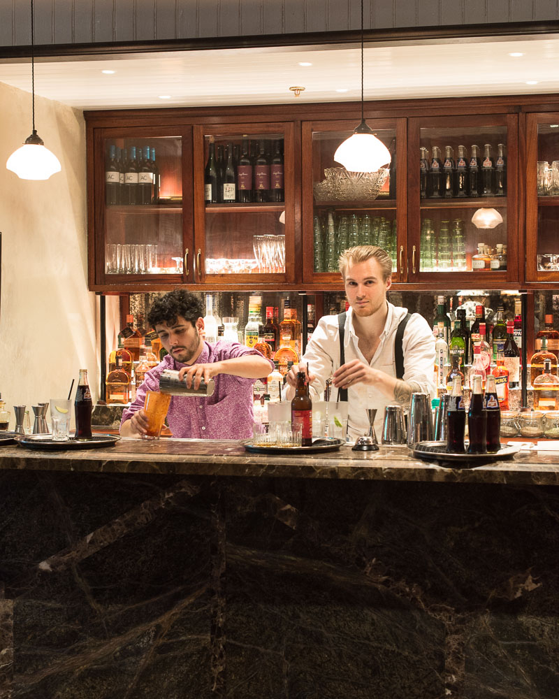 Dishoom's mixologists at work