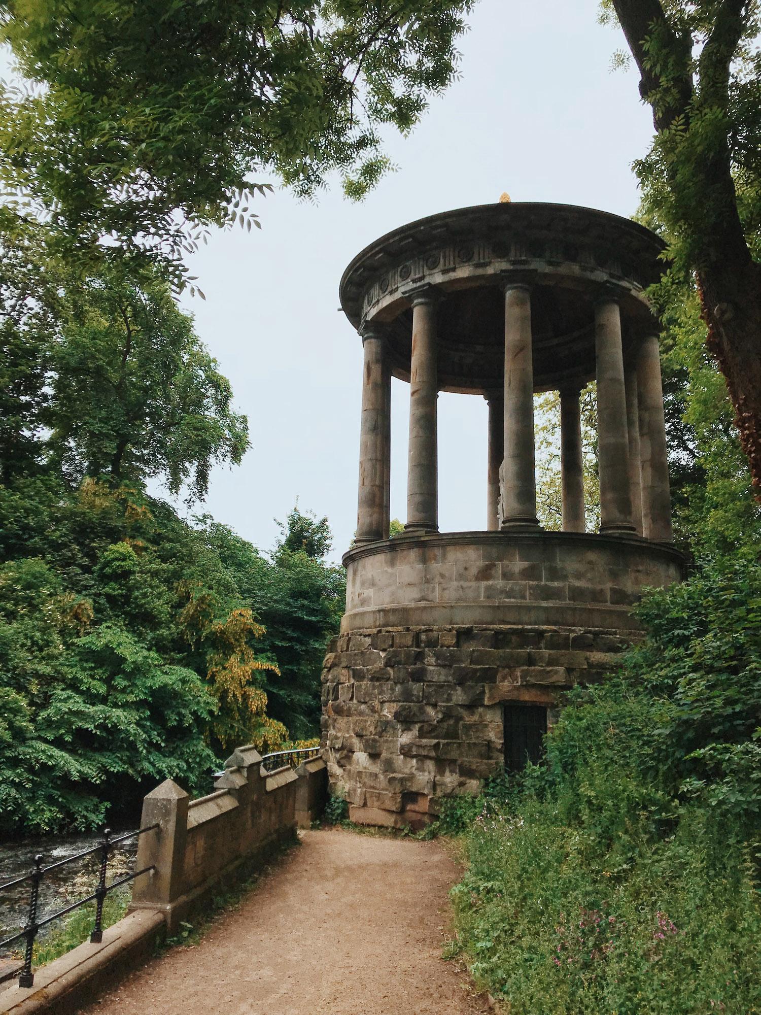 St Bernard's well, Stockbridge