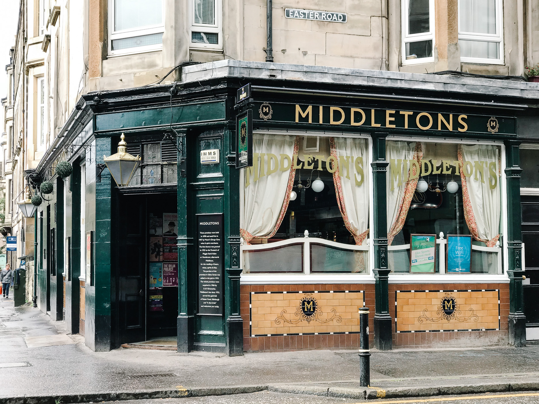Middleton's Bar, Easter Road, Edinburgh