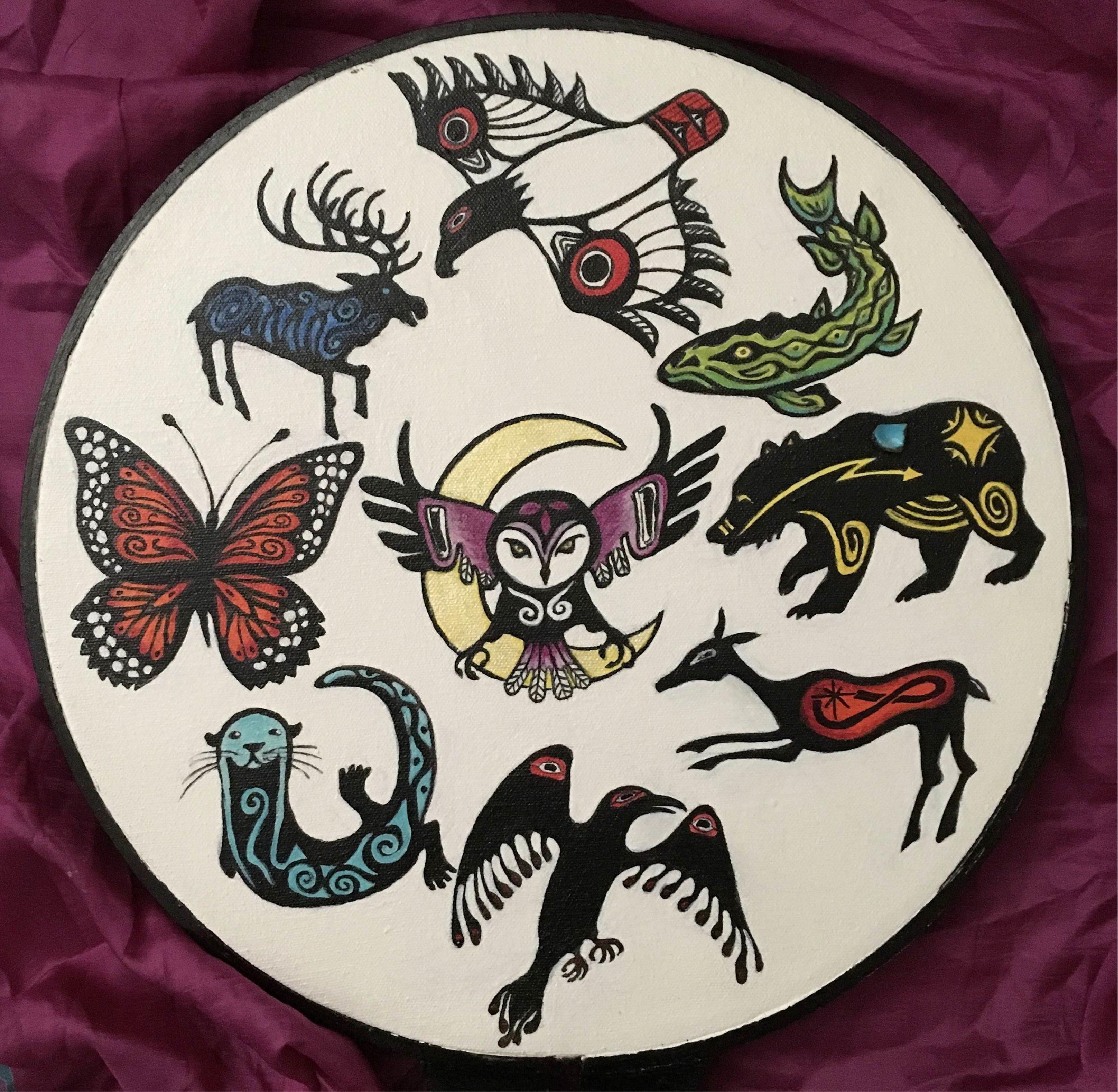 Raven Shield, by Kassie Maurer