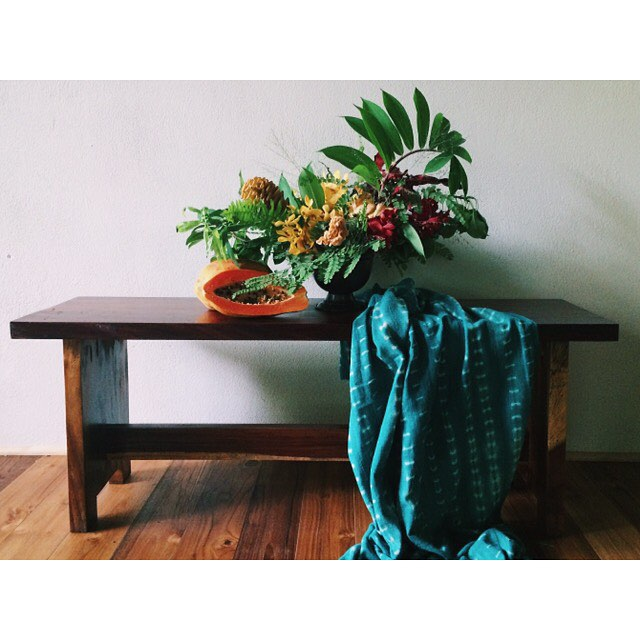 Photo by Liza Lubell | Styling Emily Katz | Student work from centerpiece workshop