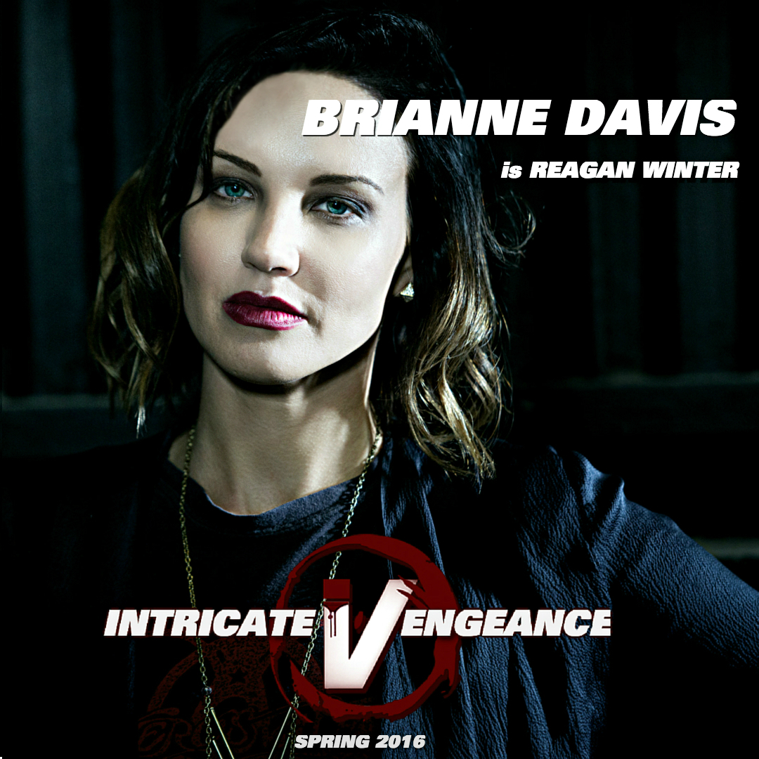 Brianne Davis as Reagan Winter in Intricate Vengeance