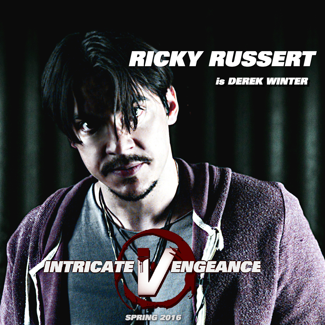 Ricky Russert as Derek Winter in Intricate Vengeance