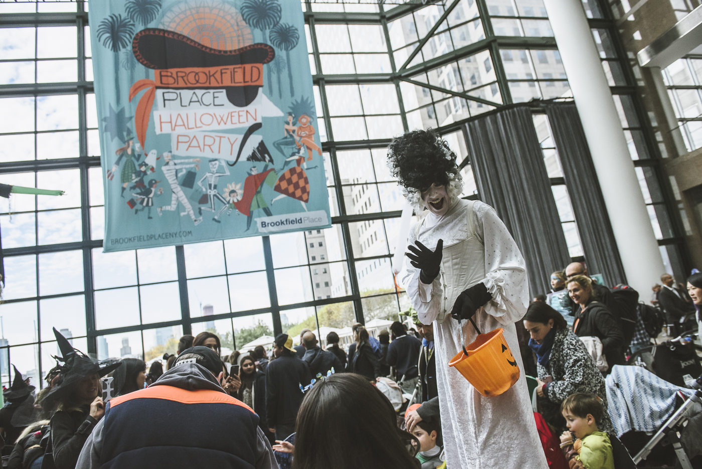 Brookfield Place Halloween Party 2015