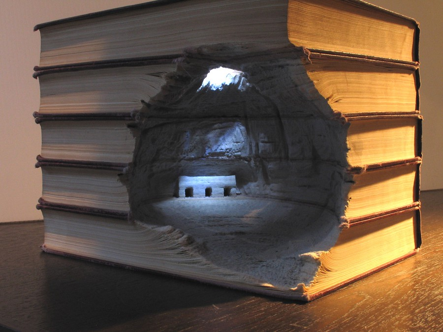 Book art by  Guy Laramee