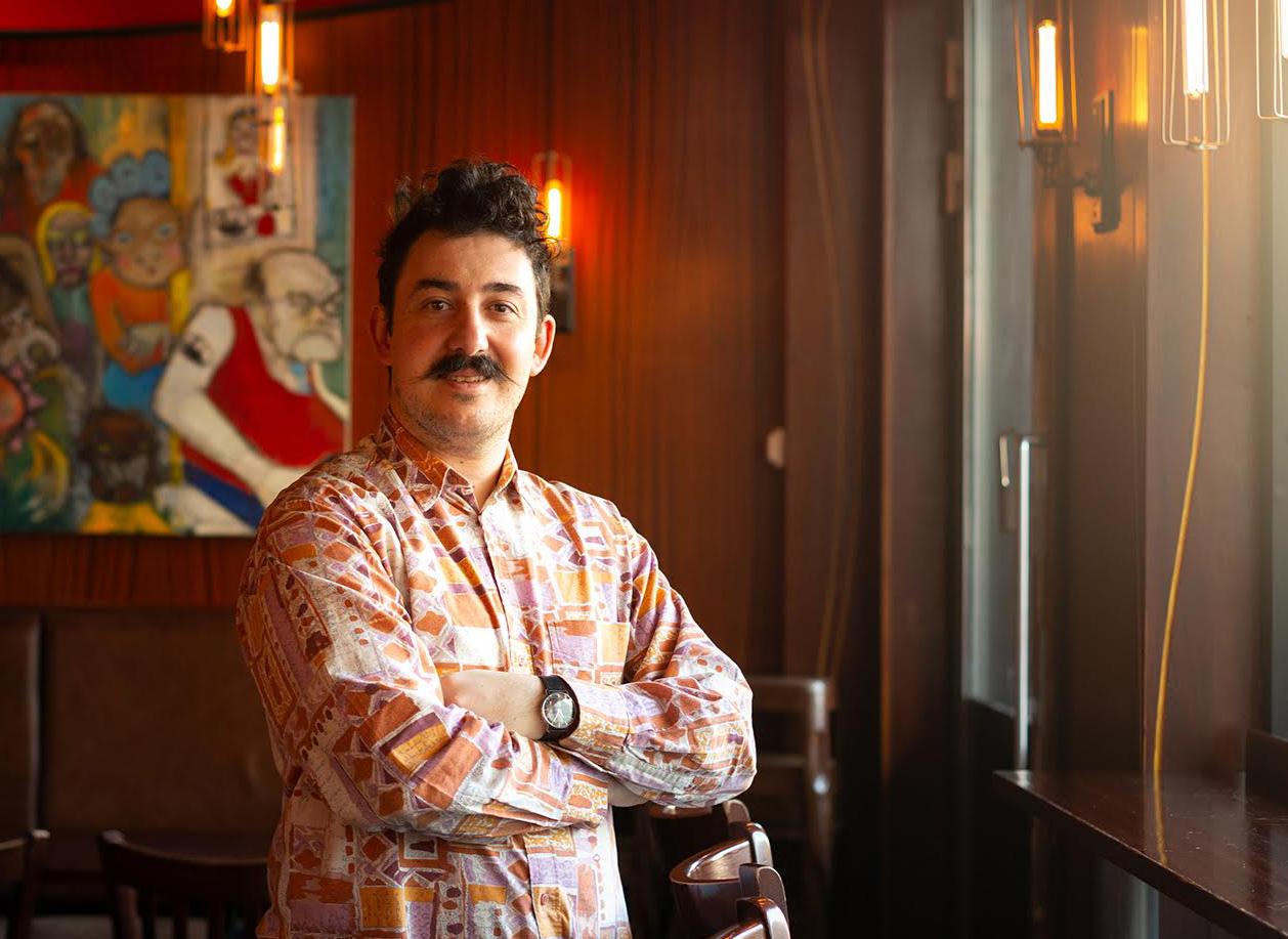Nicolas Levy, driftsjef ved Café Fiasco