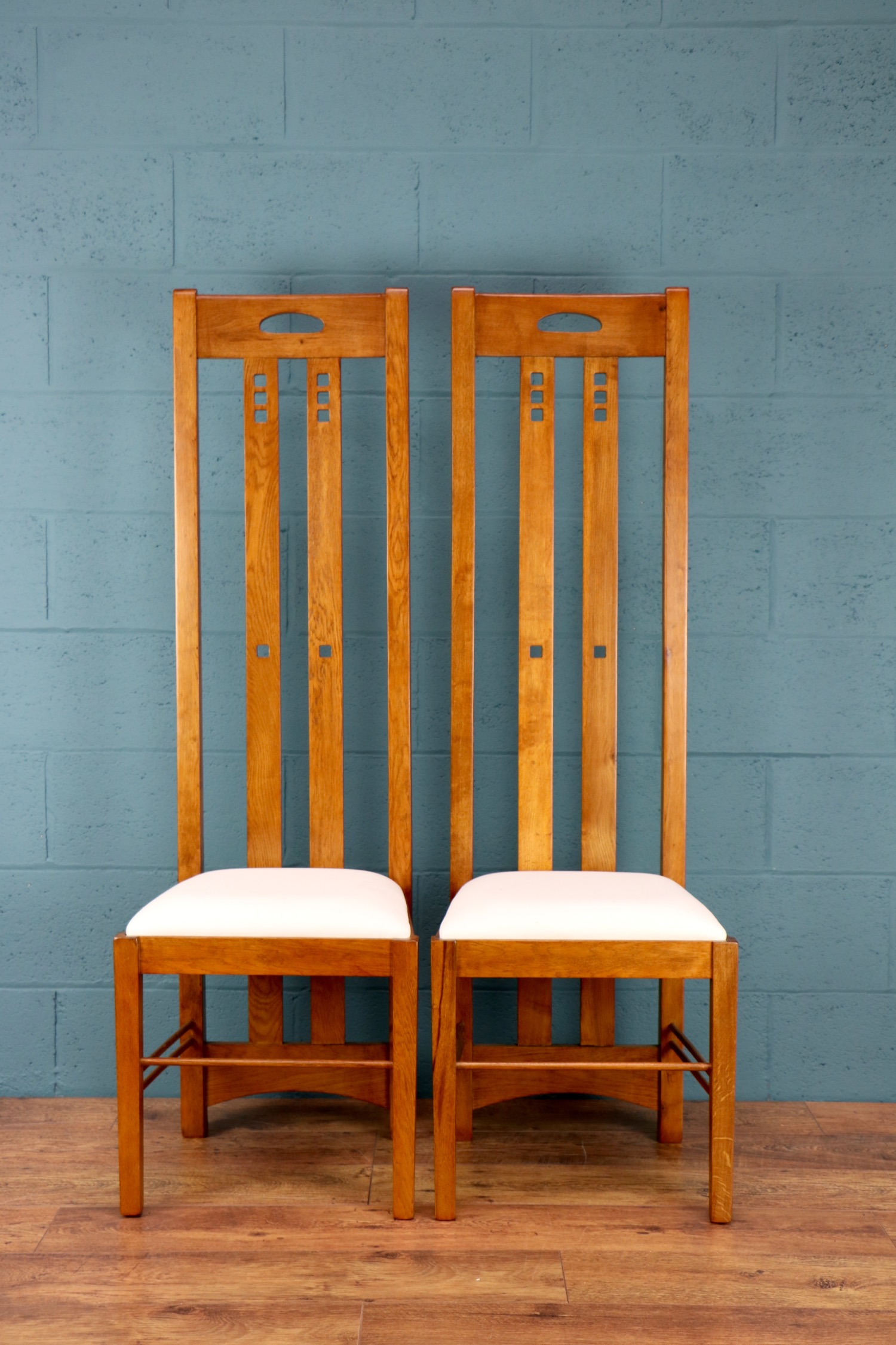 - I'm thrilled with the chairs - so glad we tried them out in my hall.Susan, Hertfordshire