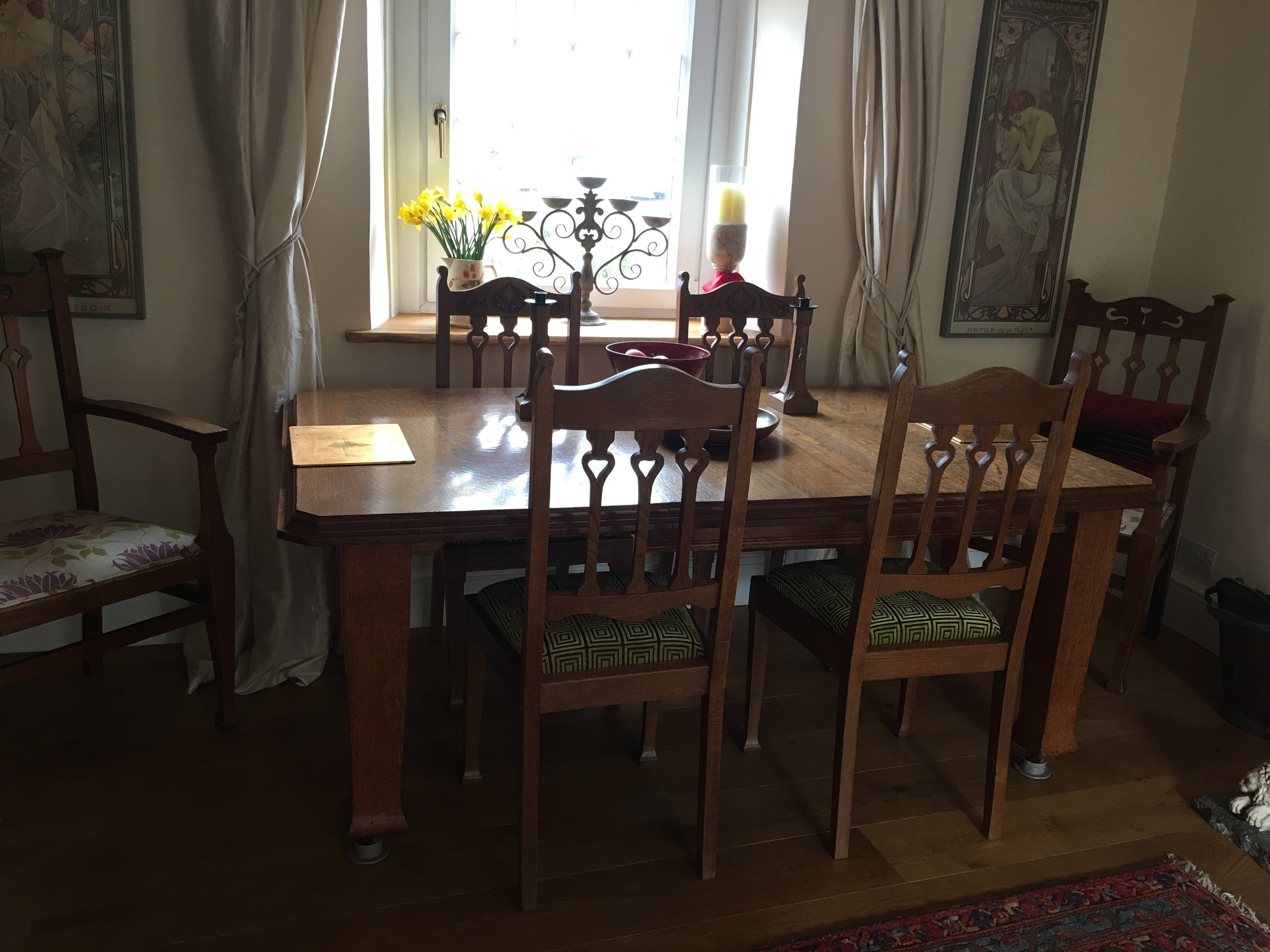 - The chairs fit perfectly with my table. Thank you very much.Nikki, Somerset
