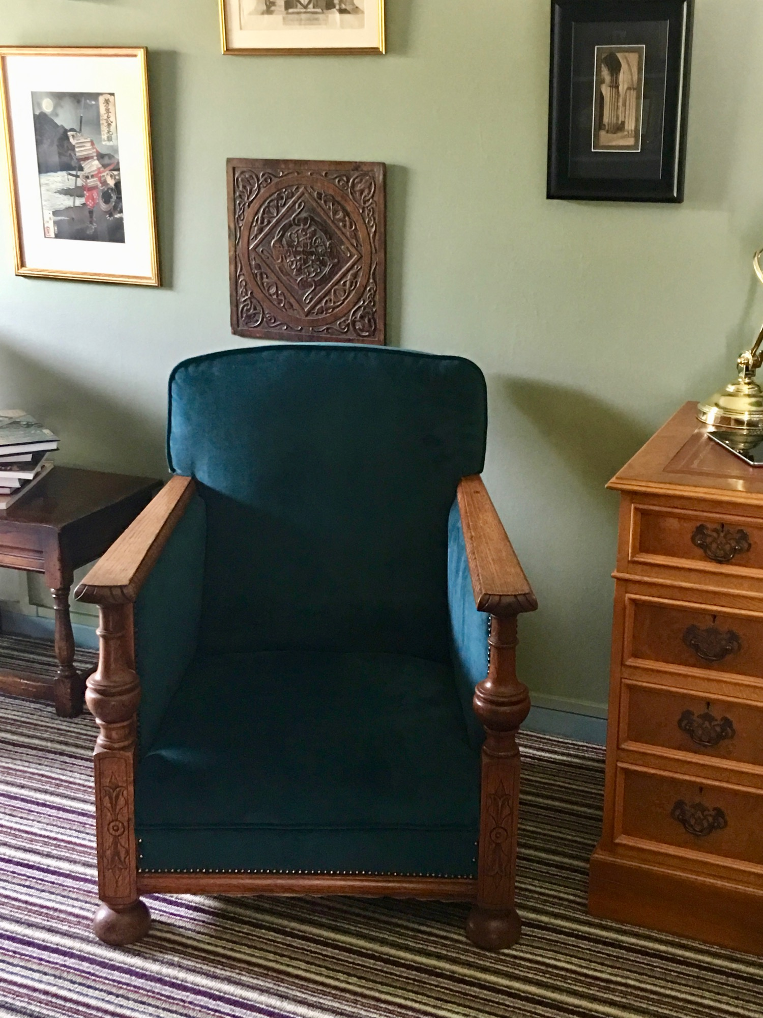 - Thank you for the chairs. The colour is great and they work beautifully in my sitting room.Oliver, Hertfordshire