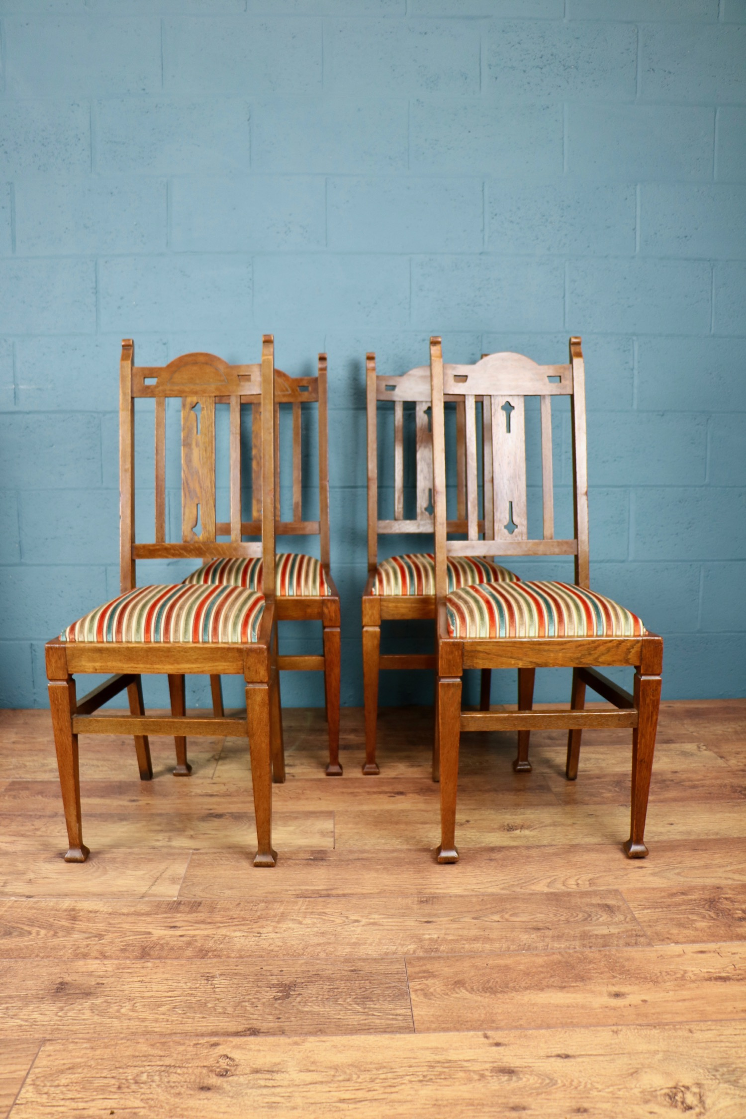 - The chairs are absolutely beautiful and work very well with the new decor. Thanks very much from a very happy customer. Lisa, Shrewsbury