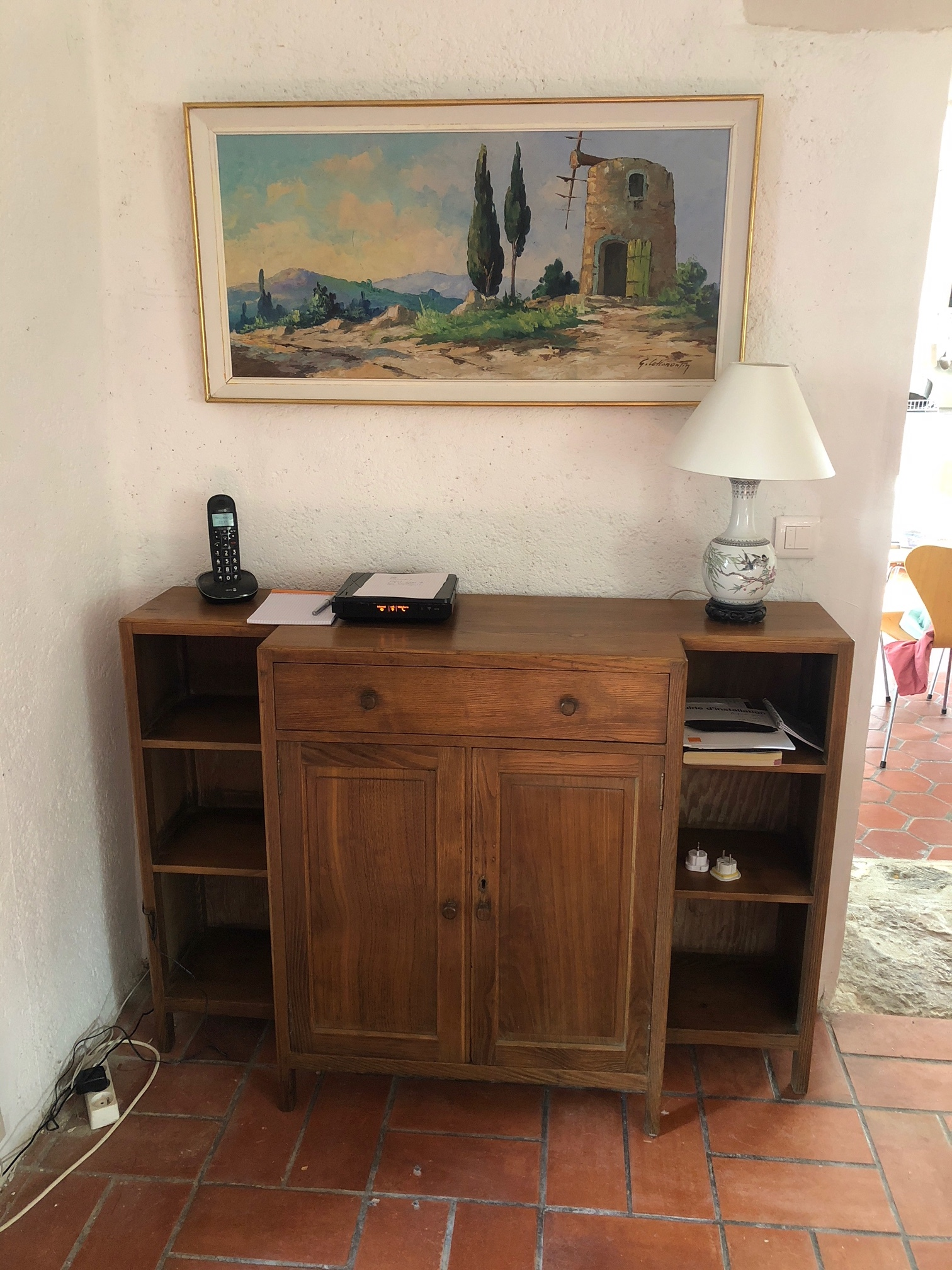 - Thank you for the restoration of the Heals Oak Bookcase. It is now in the house in France, and fits perfectly. Helen, London